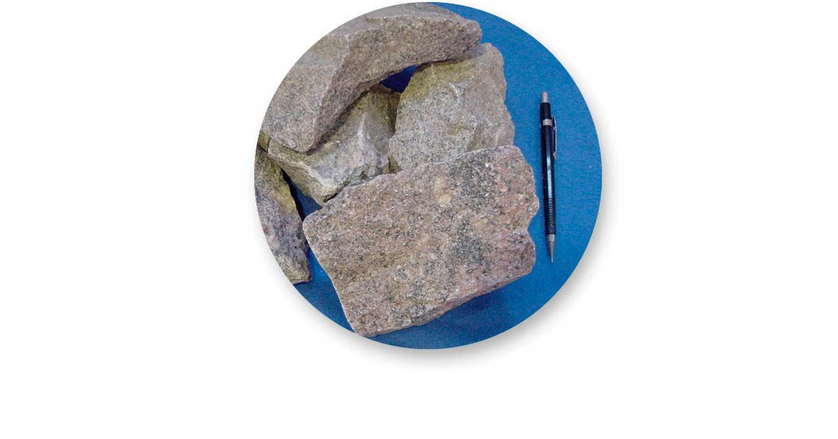 Pedra (agregado graudo) para Construção Civil